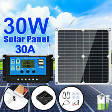 12V Solar Trickle Charger Power Solar Panel Battery Charger for Car Boat Marine