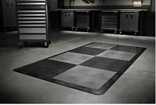 Gladiator Garage Flooring 32-Piece 12in x 12in Tread Plate Floor Tile Tiles NEW
