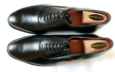 Allen Edmonds 10.5E Carlyle Black 10.5 Wide factory Toe- Heel taps, AE Shoe tree