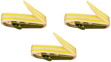 Bst3 Banding Straps For Molds & Other Banding Applications, 3 Ft, Yellow, 3 Pack