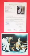 "MUHAMMAD ALI SIGNED 8"" X 10"" COLOR PHOTO CERTIFIED WITH FULL JSA LETTER COA psa"