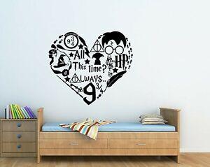 Harry Potter Childrens Quote Wall Art Vinyl Sticker Bedroom Home Decor