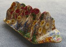Royal Winton Marguerite Floral Chintz 4-Slice Toast Holder