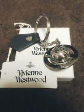 Vivienne Westwood Orb Key Ring Silver Cowhide Zinc Alloy16cm Woman Accessories