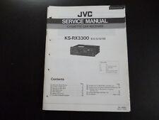Original Service Manual JVC KS-RX3300