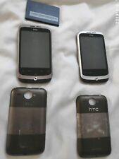 2 x HTC Wildfire Smartphones.