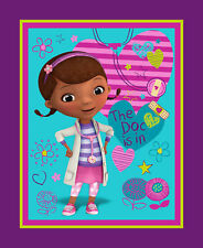 1 Disney Doc Mcstuffins The Doc is In Fabric Panel
