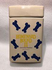 Walt Disney HOMEWARD BOUND II - Lost In San Francisco - Movie Promo Cookie Jar