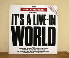 THE ANTI- HEROIN PROJECT IT'S A LIVE IN WORLD - EMI 2-94 2406693 - COSTELLO