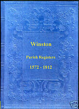 Genealogy - Winston Parish Registers (County Durham)
