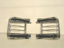 1967 Chevelle Tail Lamp Light Bezel (Pair) Blems
