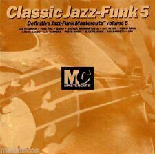 """Clásico jazz funk Mastercuts Volume 5 CD Álbum 1995 12 completo 12"""" versiones"""
