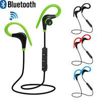 Bluetooth Wireless Sport Stereo Earphone Headphone Headset For Samsung LG iPhone