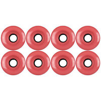 Roller Skate Quad Wheels Set of 8 62mm x 32mm Salmon 95a