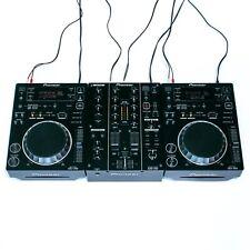 DJ-set: 2x Pioneer CDJ 350 + 1x Pioneer DJM 350 + Cavo