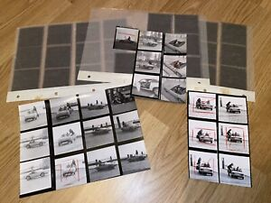 RARITÄT 37 originale TRIUMPH Spitfire MK 2 Pressefotos + Negative BILD 1974