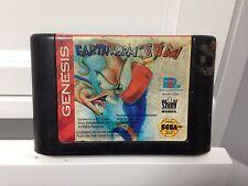 **Sega Genesis Earthworm Jim **CART ONLY** Tested/working