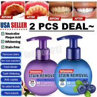 Baking Soda Toothpaste Intensive Stain Remover Teeth Whitening Toothpaste NEW