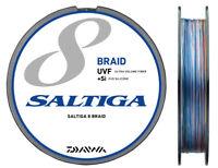 NEW Daiwa Saltiga Sensor 8 Braid+Si 600m 31lb/14kg #2 Multicolor PE Line Japan
