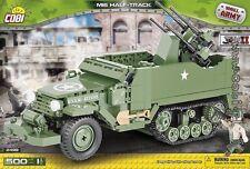 COBI M16 Half-Track / 2499 / 500  blocks WWII US Army car gun Small Army