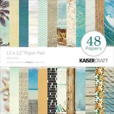 Kaisercraft Salty Kisses Paper Pad 12x12 48 Pages - Nini's Things Ocean Beach