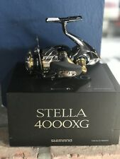 Shimano Stella 4000XG New In The Box With Cover And Paperwork