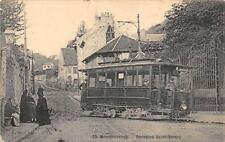 CPA 95 MONTMORENCY FONTAINE SAINT VALERY (TRAMWAY TRES GROS PLAN