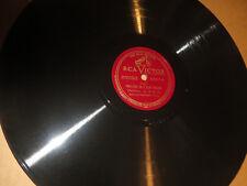 "78RPM 12"" RCA Victor 6847 I Paderewski, Prelude in D / In A Flat Minor sharp E"