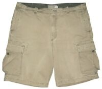 OLD NAVY CHALKY OLIVE KHAKI VINTAGE DISTRESSED MILITARY CARGO MENS SHORTS 38 40