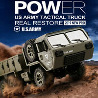Fayee FY004A 2.4G 1/16 6WD Off-road Climbing RC Car US Military Truck RTR