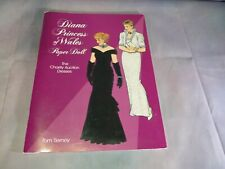 Diana Princess of Wales Charity Auction Dresses Paper Doll 1997