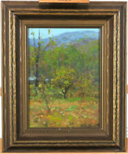 Hardesty Gilmore Maratta (1864-1924) American Listed Illinois Artist Oil/Panel
