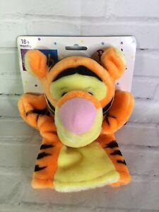 VTG Disney Winnie the Pooh Tigger Plush Hand Puppet 90s Mattel Arcotoys NEW