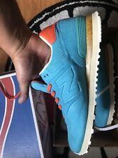 New DS 2012 Begins x New Balance 574 Sonic Gone Fishing Size 10.5 US