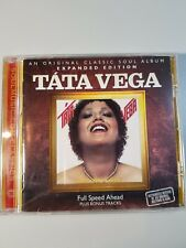 Táta Vega Full Speed Ahead CD Soul Album