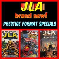 Lot of 3 JLA Prestige-Format Specials: Superpower, Foreign Bodies & Primeval NEW