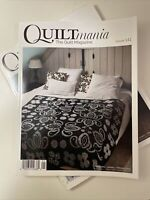 QUILTmania The Quilt Magazine Issue # 141 2021 Edition NEW
