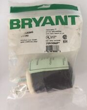 Electrical Plug Bryant 70530NP Locking Plug 2P 3W Grounding 30A 125V It/289