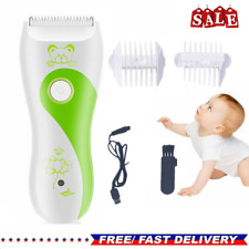 Baby Kids Hair Clippers Electric Quiet Safe Trimmer Silent Cutting Machine