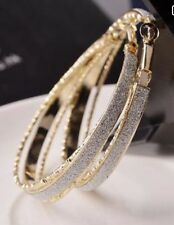 Earring Boho Festival Party Boutique Uk Gold Hoop Large Bling Luxury Fashion