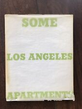ED/EDWARD RUSCHA - SOME LOS ANGELES APARTMENTS 1965