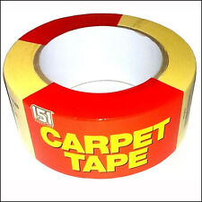 CARPET TAPE VINYL FLOORING CORK TILE RUG STICK TAPE DOUBLE SIDED 48MM X 25M