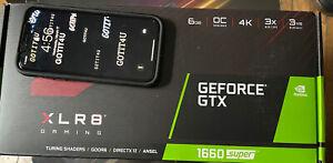 PNY NVIDIA GeForce GTX 1660 GDDR6 Graphics Card (VCG16606SSFPPBO)