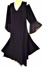 3/4 Sleeve Stretch A-Line Dresses for Women