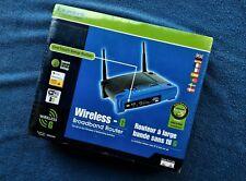 Cisco Linksys WRT54G 54 Mbps 10/100 Wireless G Broadband Router 2.4GHz SEALED