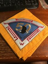 Timuquan Lodge #340 50th Anniversary 1996 Neckerchief OA  21-153X