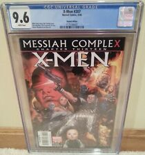 X-Men #207 CGC 9.6 1:20 Variant Messiah Complex Chapter 13 - Wolverine Hope