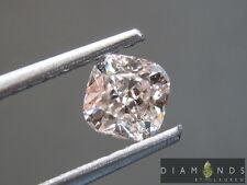 .70ct Fancy Light Brownish Pink Cushion Cut Diamond GIA R7132 Diamonds by Lauren