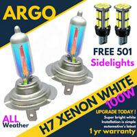 H7 100w 8500k Xenon Hid Super White Ice Vision Headlight Bulbs Audi A3 8l 8p A2
