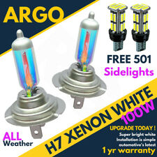 H7 100w 8500k Xenon Hid Super White Ice Vision Headlight Bulbs Audi A3 8l 8p A2